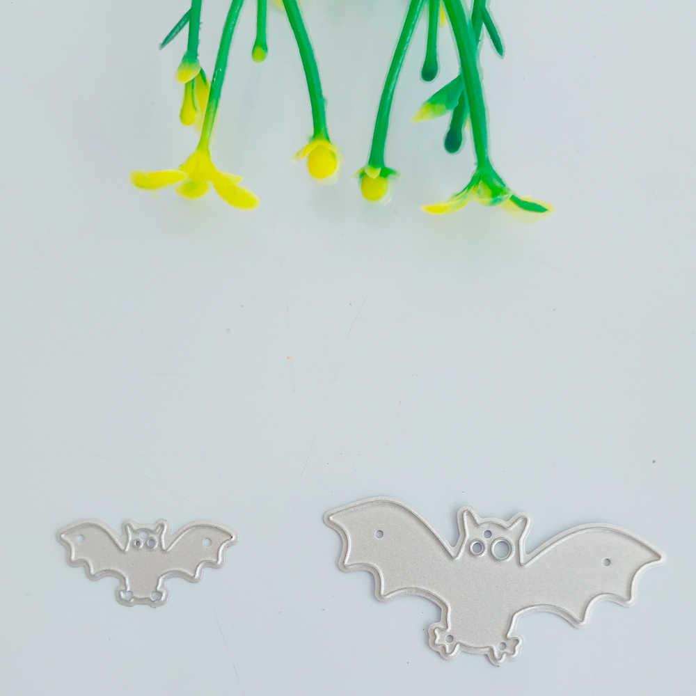 Decoração de Halloween bat corte Morrer Nova faca Morrer De corte de Metal Molde 3D Papel de Arte Decoração DIY