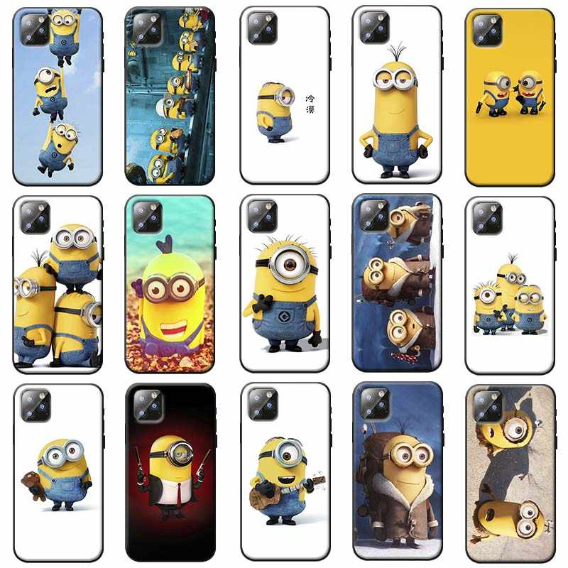 Minions Soft Silicone Phone Case for iPhone 7 11 11 pro 11 pro max XR X 6S 8 XS MAX 6 7 8 plus SE 5S