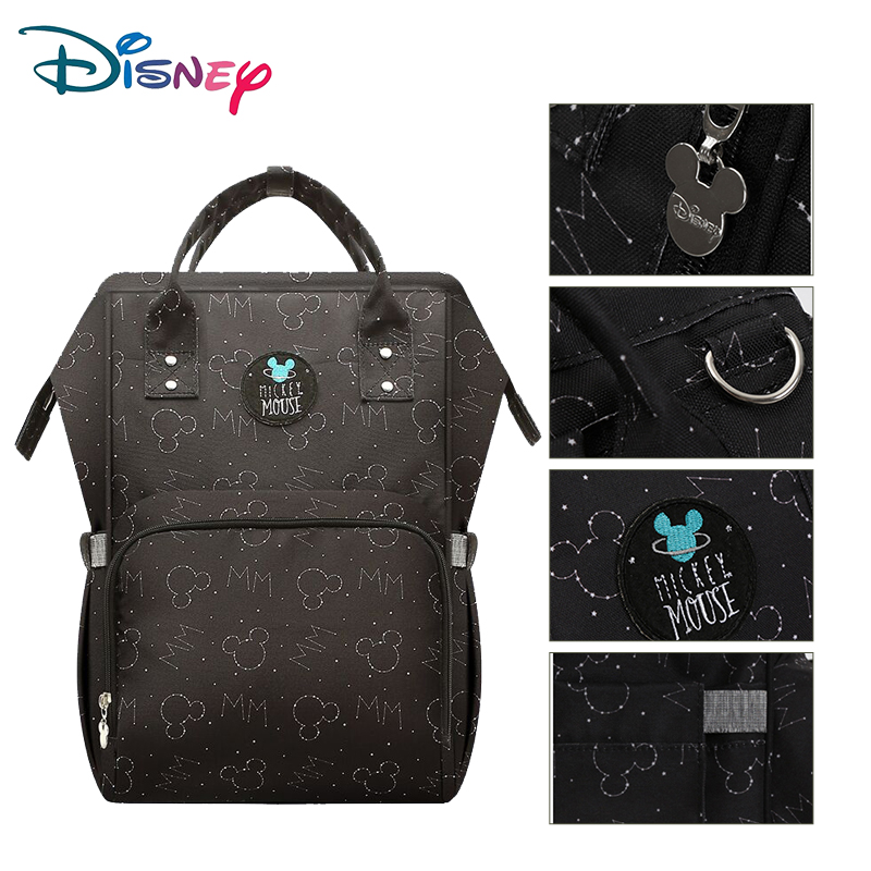 Diseny Maternity Bag For Stroller Multifunctional Waterproof Mummy Maternity Nappy Bag Baby Diaper Backpack With Usb Bag For Mom