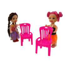Kelly Doll Toys Chair Furniture-Sets Plays-House Pretend-Play-Accessories Mini Little