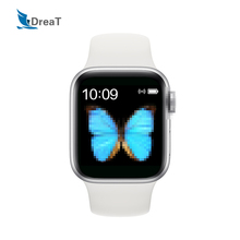 IWO Series 5 T500 Smart Watch Waterproof smartwatches heart rate monitor Bluetooth phone call Music Player 44MM For IOS Android iwo12 plus smart watch for android ios phone 44mm series 5 watches men women bluetooth call heart rate smartwatch vs iwo 12 13