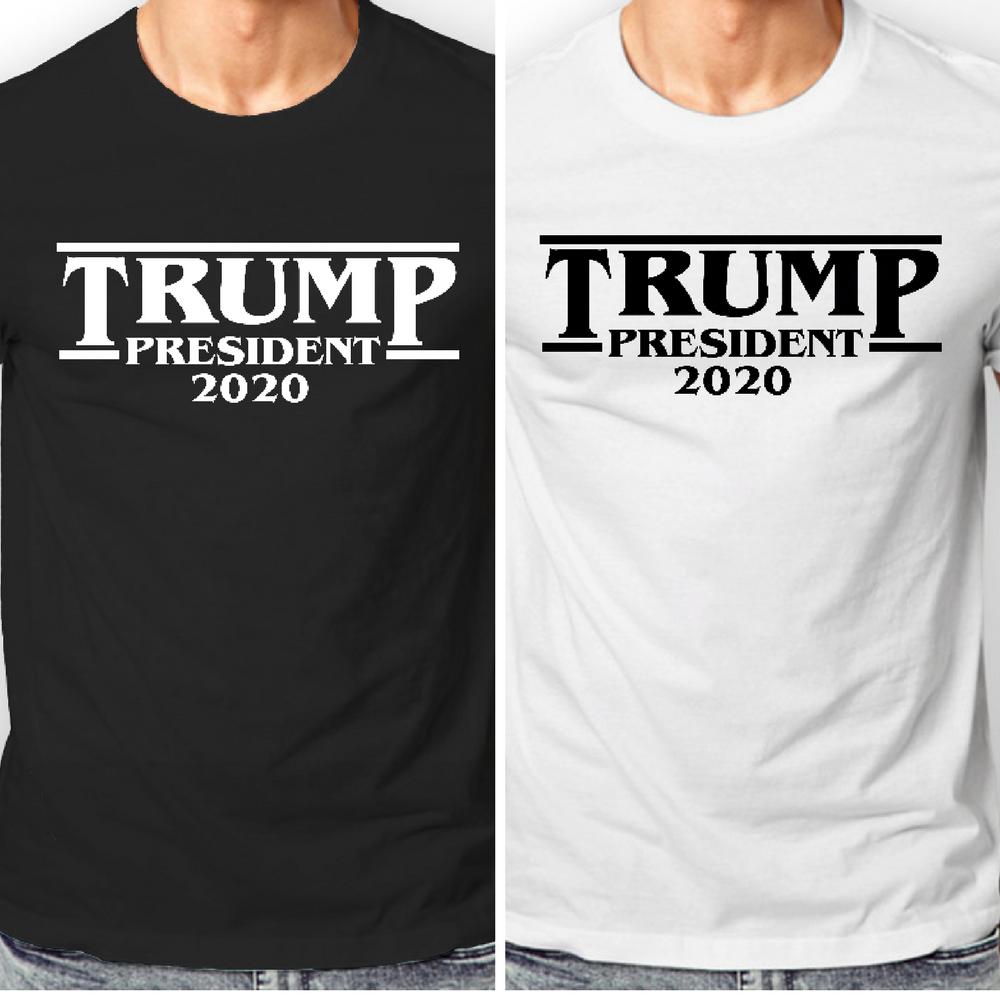 Re-Elect Donald Trump President 2020 Make America Great Again Men/'s T Shirt 1602