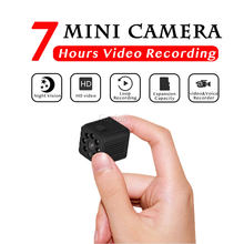 7 Hour Video HD 1080P Mini Camera Automatic IR Night Vision Body Secret Camera Micro Cam Motion Detection Support Hidden TF Card(China)