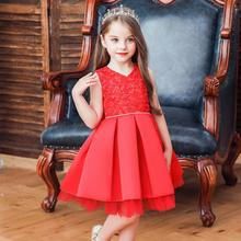 Girls Dress Summer New Girls Princess Dress for Wedding Party Kids Layered Dresses For Baby Girls Children Costumes цена в Москве и Питере