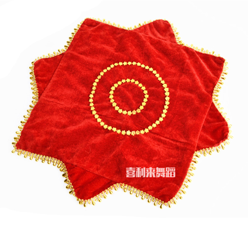 A Ruler Handkerchief Flower Dance Errenzhuan Adult Children Northeast Younger Handkerchief Square Dance Thick Flower Like Handke
