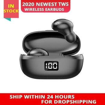 2020 New Original TWS Pro True Wireless Earbuds Bluetooth Headset Sport Headphone Bass Earphones PK i9000 Pro i12 TWS
