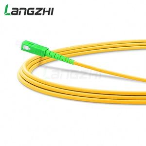 Image 5 - 10 Pcs Sc Apc To Sc Apc Simplex 2.0mm 3.0mm Pvc Single Mode Fiber Patch Cable Fibra Optica Jumper Fiber Patch Cord Ftth