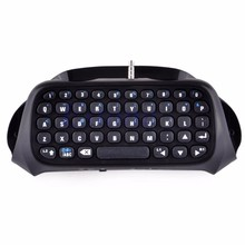 Nuova Tastiera Senza Fili di Bluetooth Tastiera Chatpad Per Il Gioco 4 Controller PS4 PlayStation 2019 Nuovo