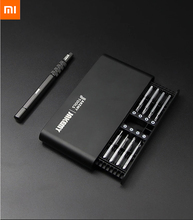 Xiaomi  17 in 1 household screwdriver set 16 extended screwdrivers Matte all metal surface Magnetic absorption