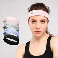 1 Pcs Practical Anti-Slip Breathable Men Women Elastic Yoga Headband Gym Fitness Workout Hair Band Sports Ribbon Sweatband