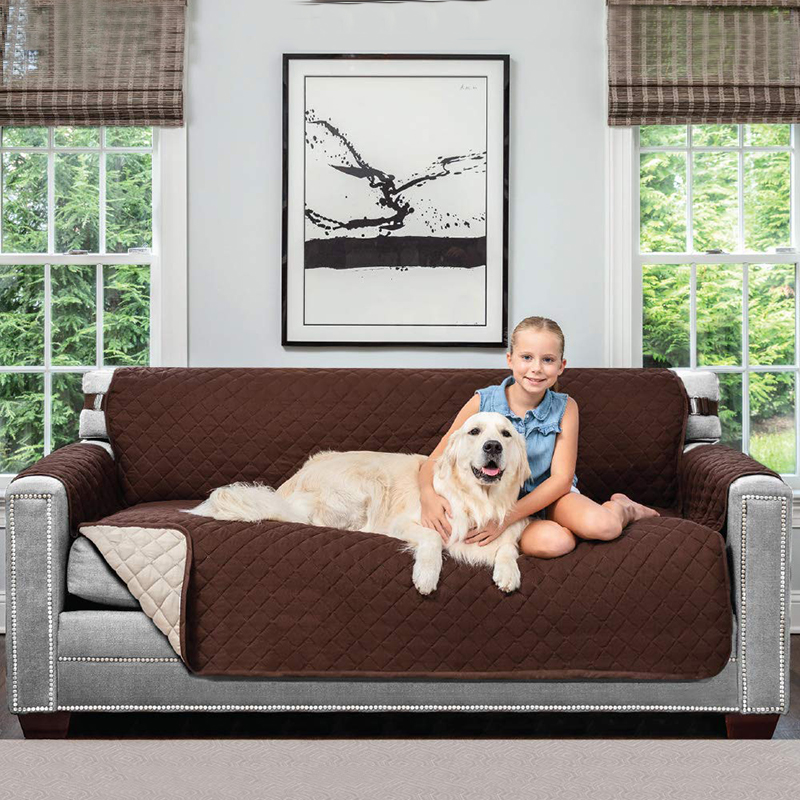 Lanke Elastic Pet Sofa Cover for Living Room Dog Cat Cover Sofa Waterproof for Sofa Couch