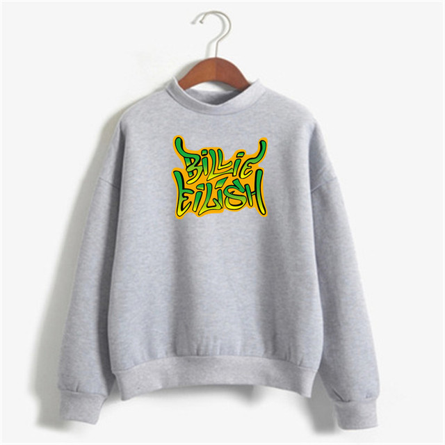 BILLIE EILISH THEMED SWEATSHIRT (10 VARIAN)