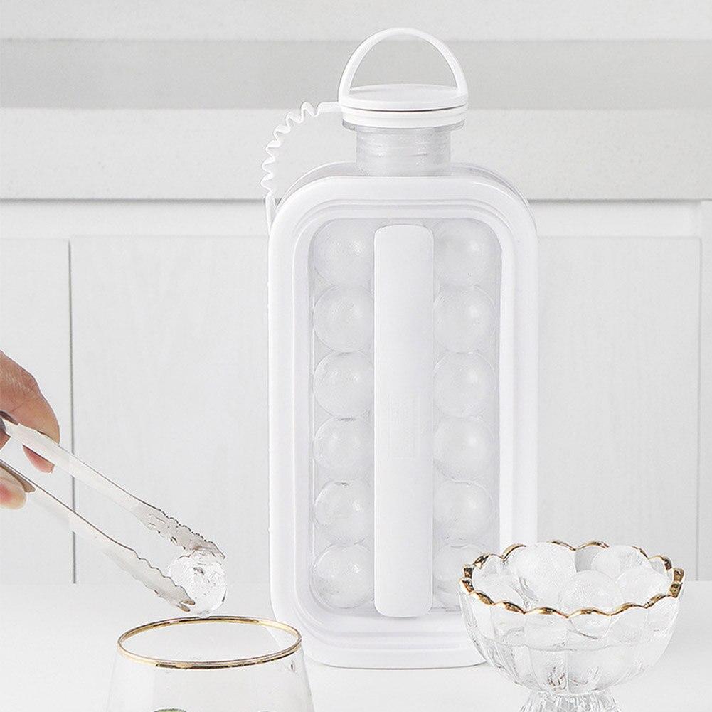 2 in 1 Portable  Ice Maker & Bottle