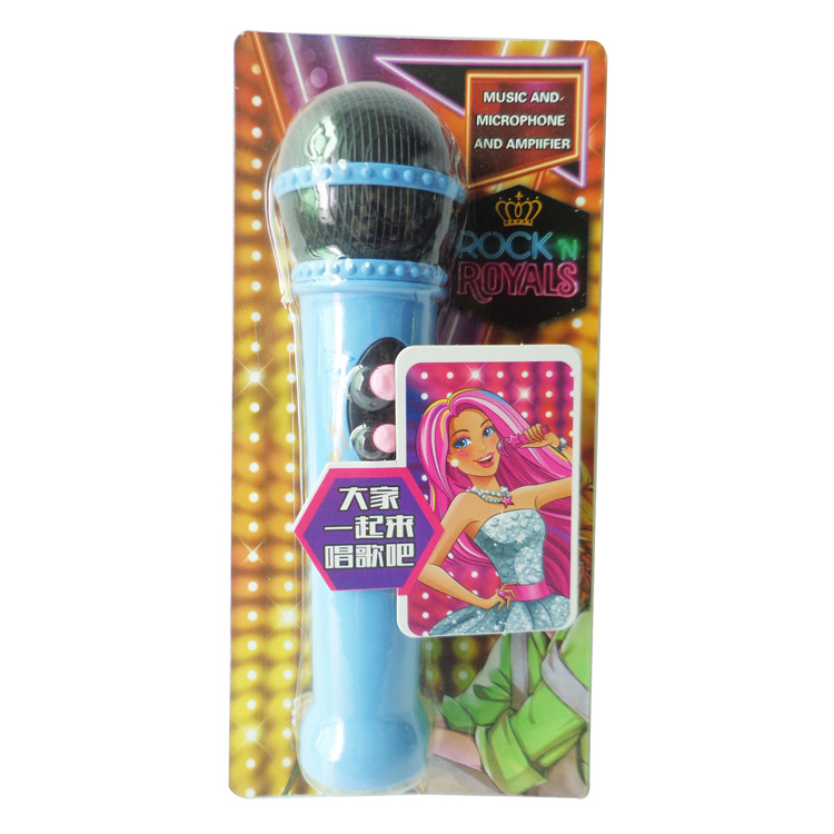 Children Early Education Microphone Toy Music Singing PA Karaoke Microphone Ma Ke Feng Stall Hot Selling