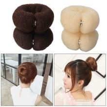 Bun-Maker Twist-Accessories Hairstyle Sponge-Shape Ring Magic-Foam Girls Women New