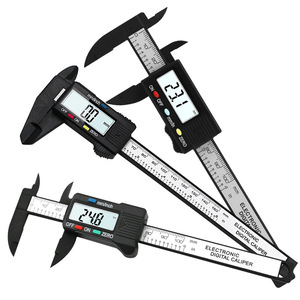 Image 2 - High precision electronic digital display caliper 100/150mm plastic measuring tool inner diameter outer  gauge ruler
