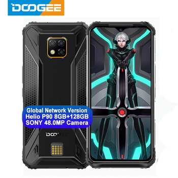 IP68 DOOGEE S95 Pro Helio P90 Octa Core 8GB 128GB 48MP Cam Android 9.0 Modular Rugged Mobile Phone 6.3inch FHD Display 5150mAh