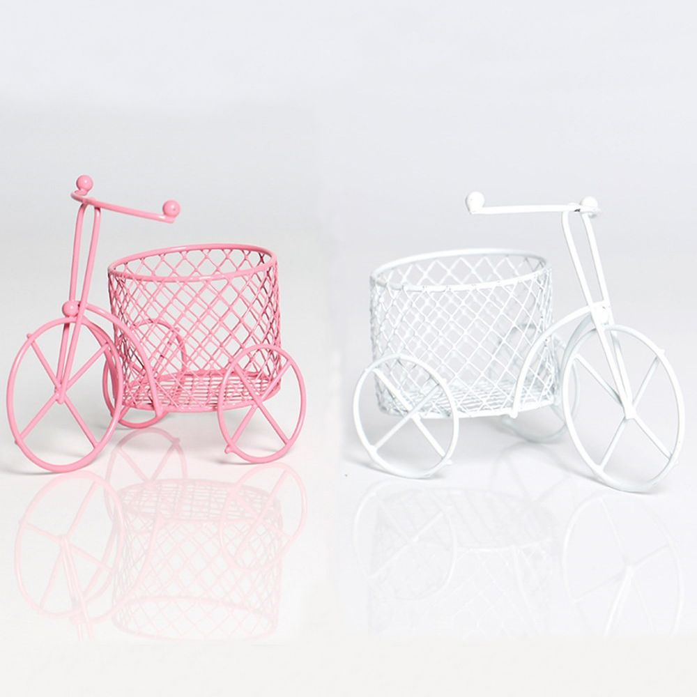 Candy Rack Sponge Storage Jewelry Container Lron Tricycle Car Rack Candy Box Sugar Shelf Ornament Rack Creative Home Decor