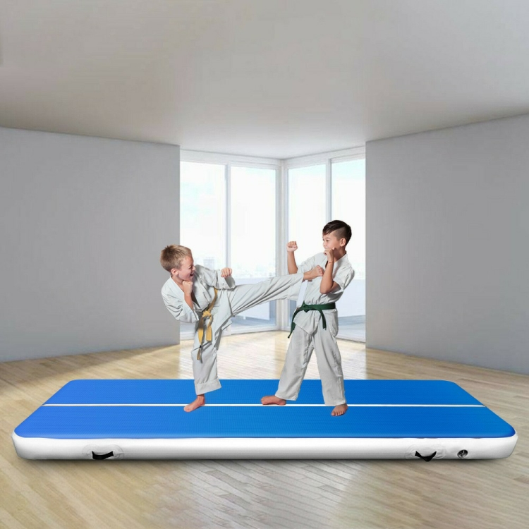 2020 New Airtrack 2m 3m 4m Air Track Inflatable Gymnastic Mattress Gym Tumble Floor Tumbling Mat For Adult Child Indoor