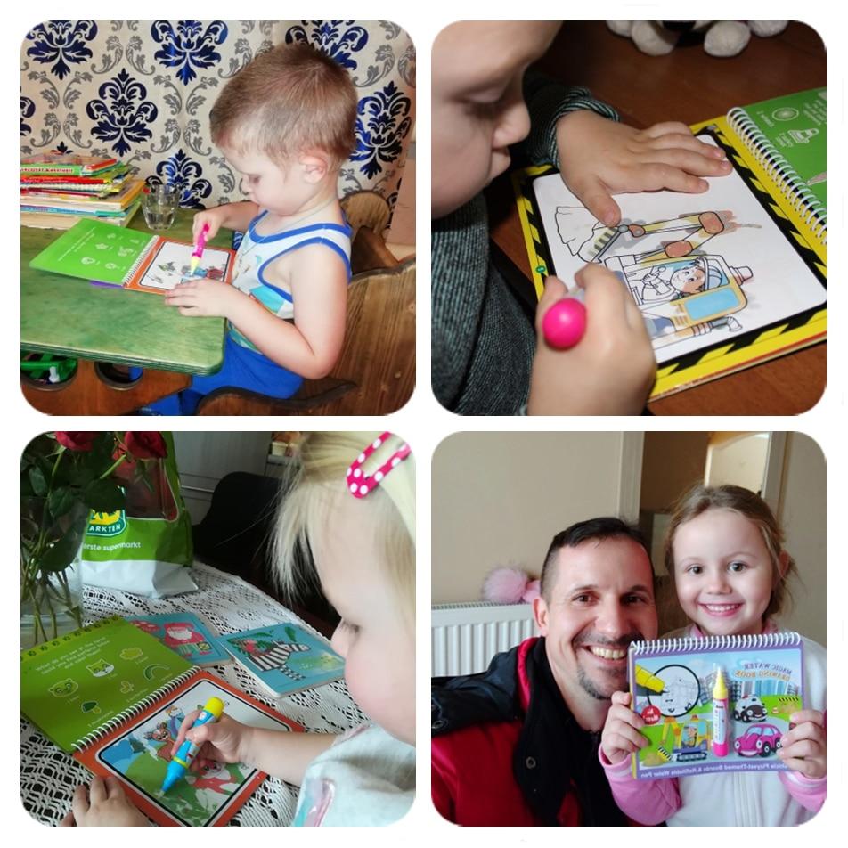Magic Water Drawing Book - Beyond Baby Talk