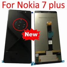 "Best Working 6.0"" For Nokia 7 Plus LCD Display Touch Screen Digitizer Assembly For Nokia 7Plus E7 Plus TA 1046 TA 1055 TA 1062"