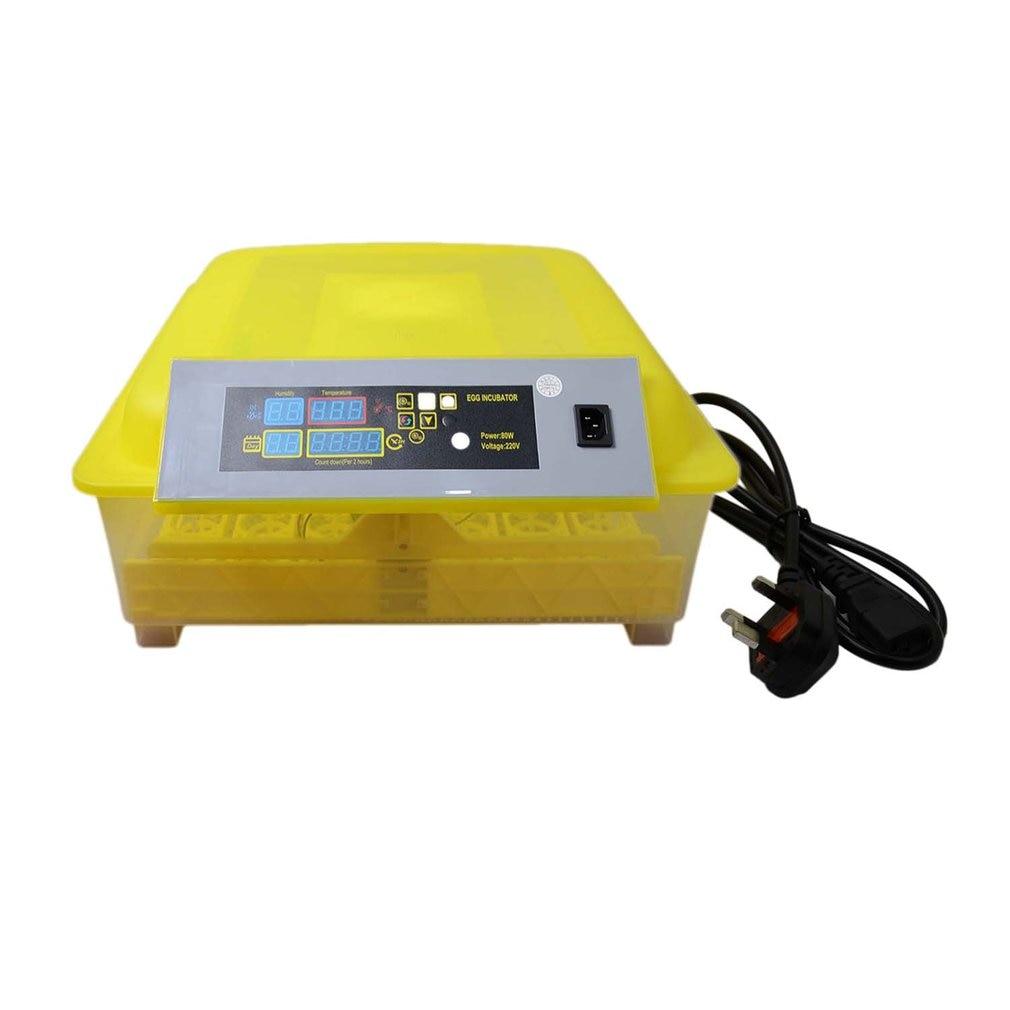 48 отверстий автоматический инкубатор для яиц цифровой инкубатор контроль температуры для курицы птицы инкубатор утки гусиные птицы