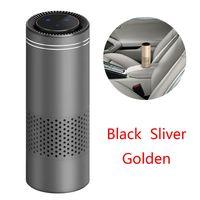 Car Air Purifier Electric Air Freshener USB Mini Air Purifier HEPA Vehicle Air Ionizer Germicidal Filter Disinfection Clean Room|Car Air Purifiers| |  -