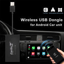 Carlinkit Carplay A3 Wireless for Apple Adaptador Android Auto Dongle Car Play Iphone CAR WIFI Bluetoot MIMI Mirror Link