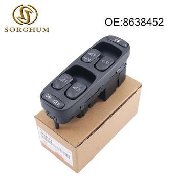 8638452 Window Master Switch for Volvo V70 S70 1998 1999 2000 Master Power Window Switch