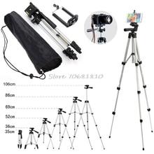 Professionalกล้องขาตั้งStand Holder MountสำหรับiPhone Samsungโทรศัพท์มือถือ + กระเป๋า