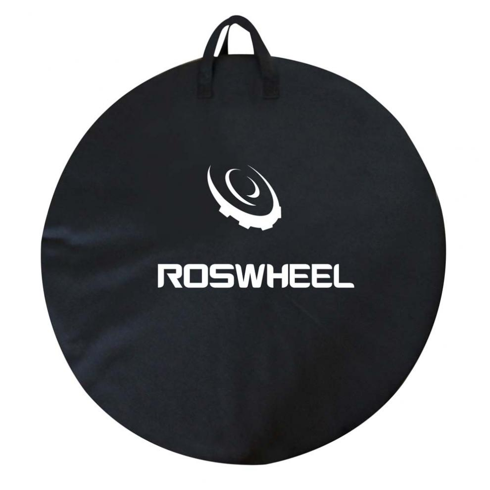 ROSWHEEL 73cm Cycling Bicycle Wheel Bag Road MTB Mountain <font><b>Bike</b></font> Single Wheel <font><b>Carrier</b></font> Bag Carrying Package <font><b>Bike</b></font> <font><b>Accessory</b></font> image