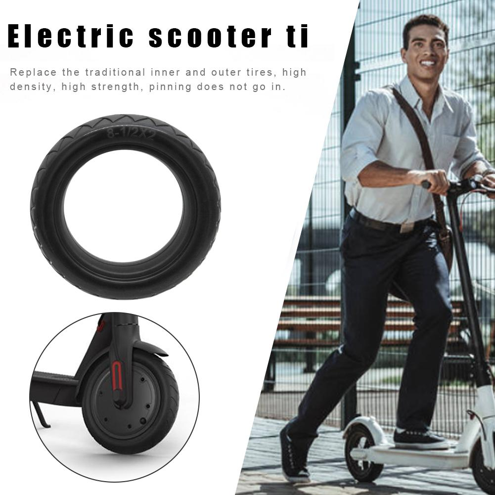 Replacement Solid Tire Electric Scooter Accessories For Xiaomi M365 Scooter