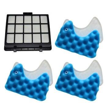 3 Sets Schwamm + 1Pcs Filter Für Samsung Dj97-00492A Sc6520 Sc6530 Ersatz