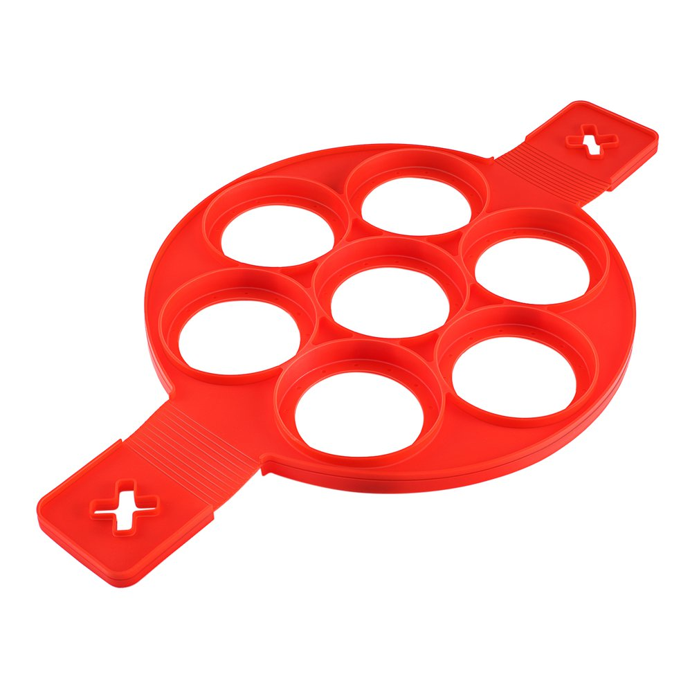 Pancake Maker Nonstick Cooking Tool Non-Stick Silicone Baking Cake Egg Ring Pancake Cooking Mould Mold
