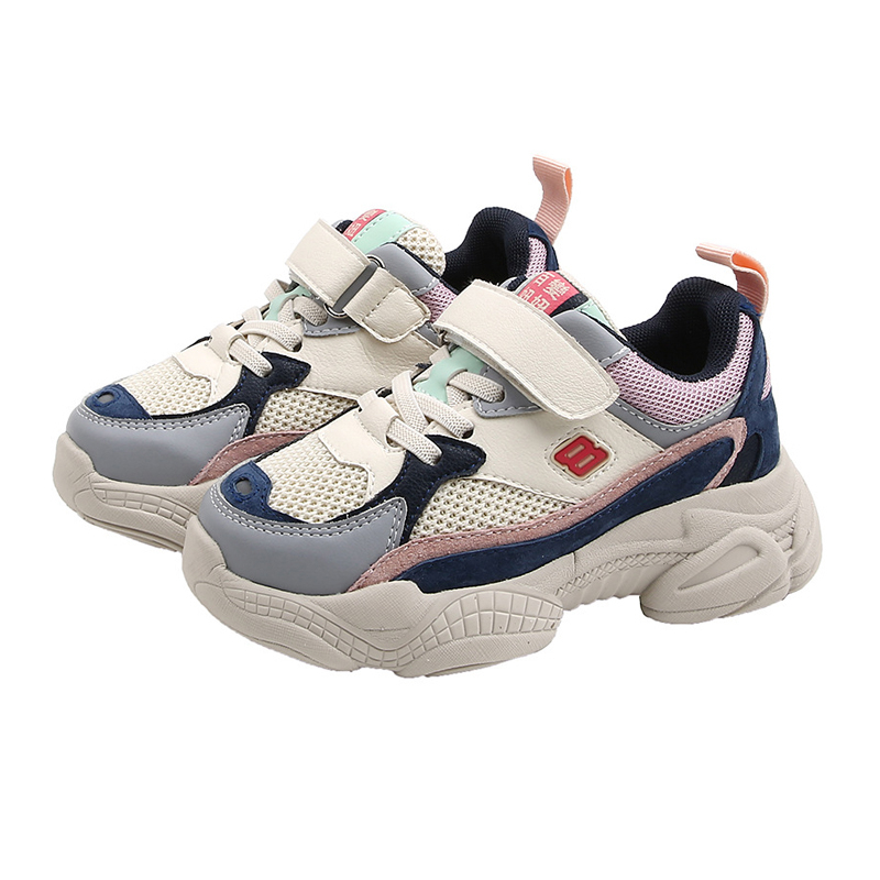 CNFSNJ brand 2019 new spring autumn boys Girls fashion kids light Soft bottom causal Shoes Baby Children leather Sneakers 26 37