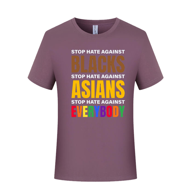 Proud Asian American Stop Asian Hate Anti Racist Shirt Asian Shirt AAPI T-Shirt Stand Up For Asians Proud AAPI Pride T-Shirt No Hate