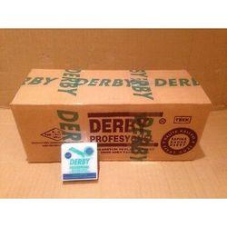 2X5000 Derby Professionele Enkele Rand Scheermesjes (100 Packs van 100 Bladen)