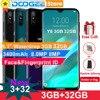 "Doogee Y8 Android 9,0 teléfono celular 4G LTE 3GB 32GB 6,1 ""FHD pantalla 19:9 3400mAh MTK6739 cara desbloquear huella dactilar ID Smartphone"