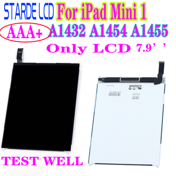 AAA+ For iPad Mini 1 1st A1432 A1454 A1455 LCD Display Screen Panel Monitor Module Replacement or Only Touch Screen alangduo 5pcs for ipad mini 1 a1432 a1454 a1455 mini 2 a1489 a1490 a1491 apple touch screen digitizer glass panel replacement