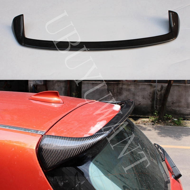 For <font><b>BMW</b></font> 1 Series F20 <font><b>116i</b></font> 120i 118i <font><b>Carbon</b></font> Fiber AC Style Exterior Rear Spoiler Tail Trunk Boot Wing Decoration 2012 2013 2014 image