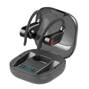 Q62 TWS Bluetooth V5.0 наушники с крючком беспроводные стерео наушники с глубоким басом Спортивная гарнитура водонепроницаемая