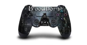 Image 5 - Bloodborne Protective Sticker Cover For PS4 Controller Skin For DualShock 4 Playstation 4 Pro Slim Decal PS4 Skin Sticker Vinyl