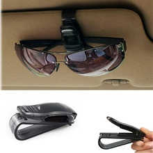 Universal Car Sun Visor Glasses Sunglasses Ticket Receipt Card Clip Storage Holder Vehicle Accessories