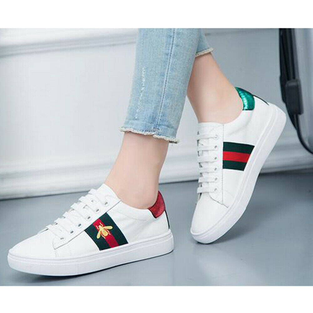 Classic Fashion Sports White Shoes Female 2019 Big Size Spring and Autumn New Shoes Korean Shoes Sneakers