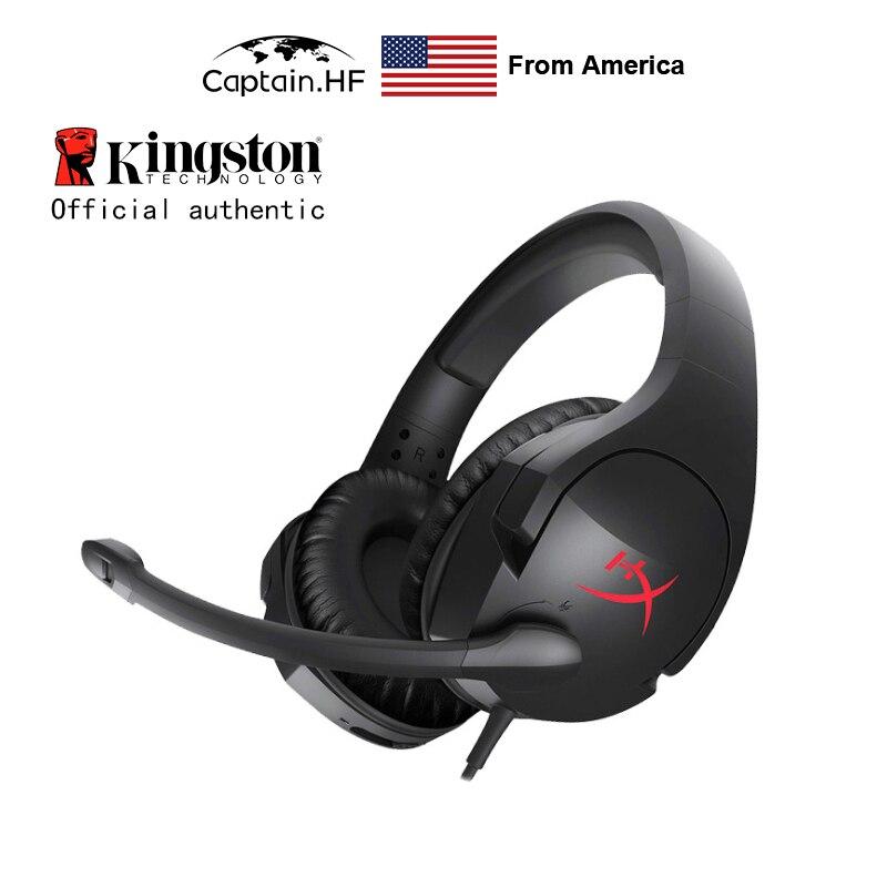 US Captain Original Professional Hyper X Cloud Stinger gamingowy zestaw słuchawkowy, na PC, laptopy, słuchawki douszne dla graczy Kibersport