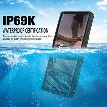 IP68 حقيقي مقاوم للماء الحال بالنسبة لسامسونج غالاكسي نوت 10 زائد 9 S9 S10 زائد حافظة مقاومة للماء غطاء السباحة حماية كاملة تقف