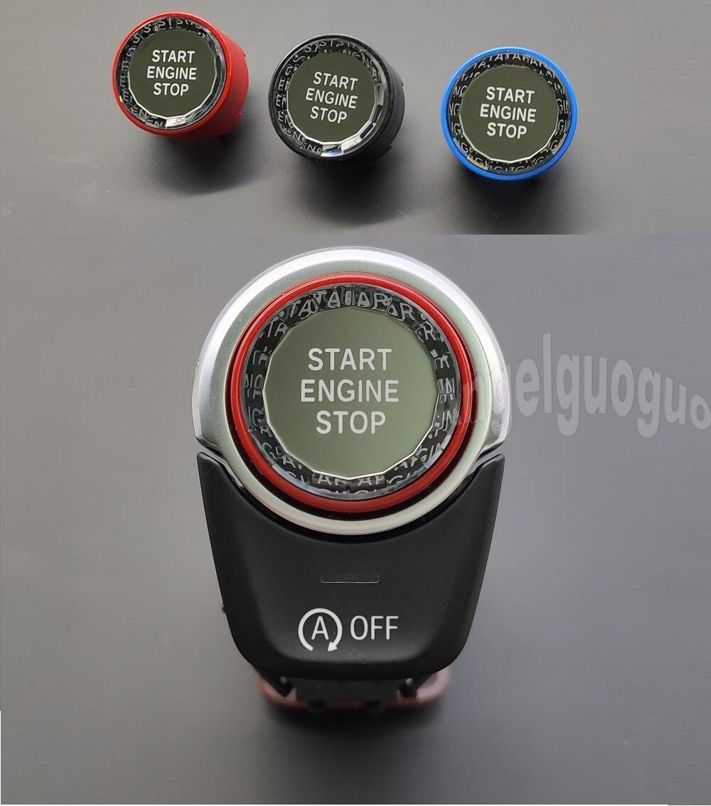 Кнопка запуска двигателя автомобиля замена крышки стоп Swtich ключ Декор автомобиля Стайлинг для Volvo V40 V60 S60 XC60 S80 V50 V70 XC70