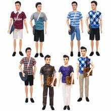 1 conjunto ken boneca pano moda diário usar terno do estudante com mochila mochila masculino boneca roupas 1/6 ken boneca acessórios