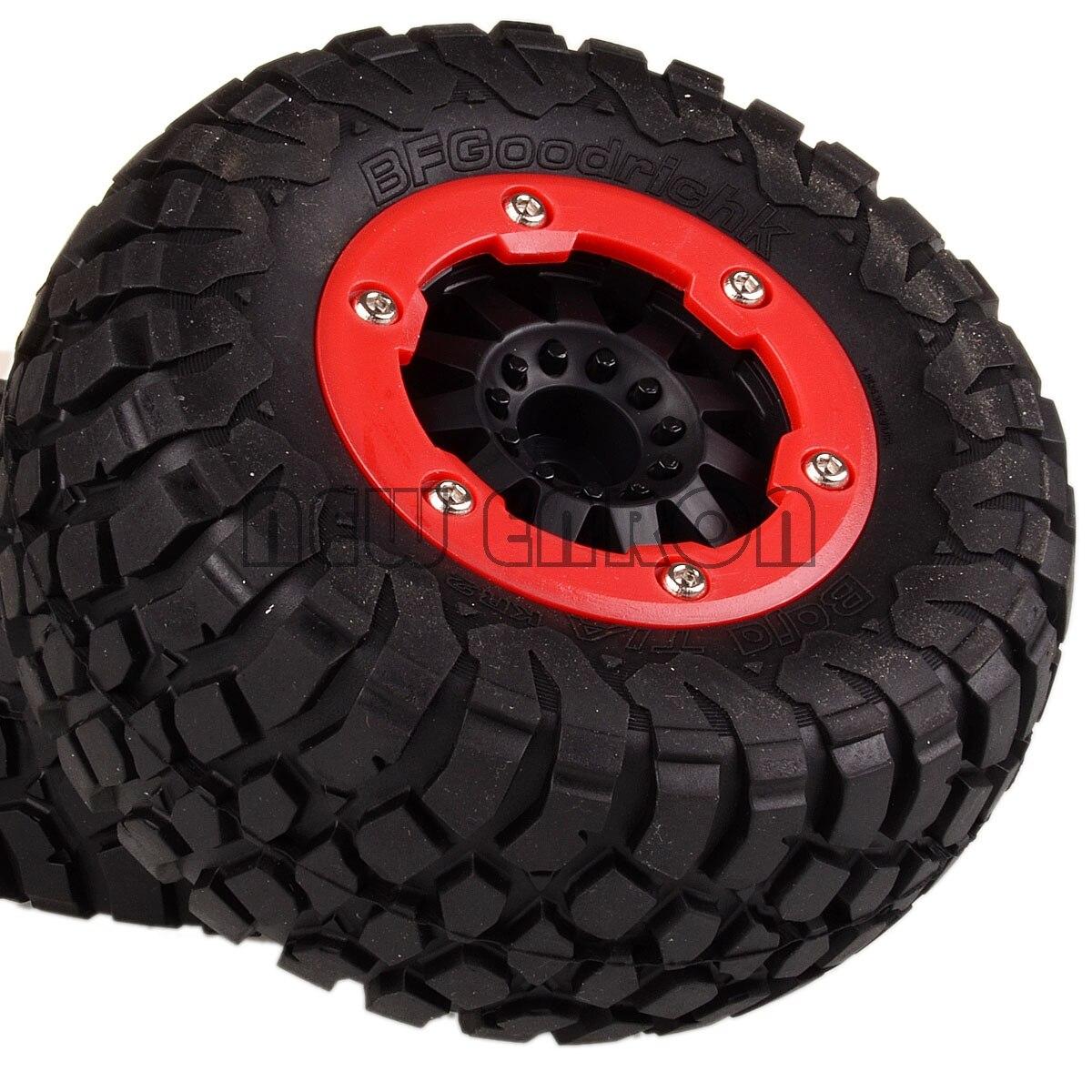 NEW ENRON 4PCS Course Truck <font><b>Tire</b></font> & Bead-Lock Wheel Hub FOR 10SC HPI