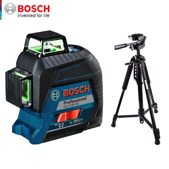 Bosch Laser Level Green 12-line Marker Vertical And Horizontal Indoor Outdoor General Auxiliary Tools High Precision GLL3-60XG 1
